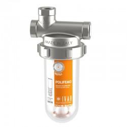 POLIFEMO® Dosatore di polifosfati e silicati completo di kit di connessione e chiave per montaggio/smontaggio cartuccia.