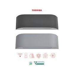 Toshiba Inverter serie HAORI 13000 btu R-32 RAS-B13N4KVRG-E Wi-Fi Integrato A+++ Grigio Chiaro/Grigio Scuro - NOVITA'