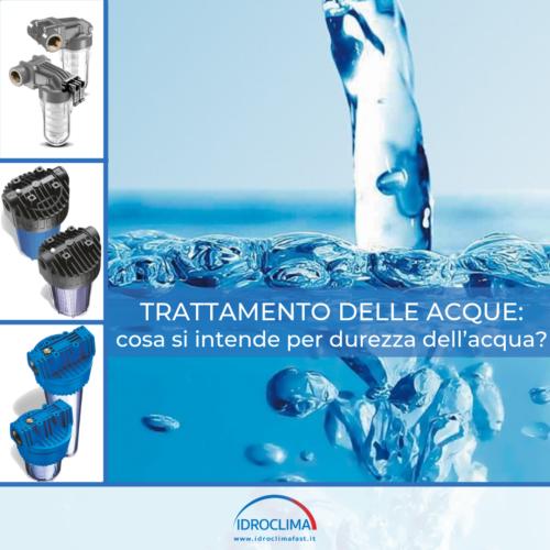 Trattamento delle acque - IdroClima