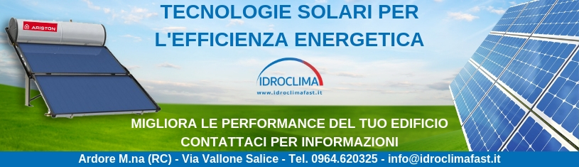 Impianti fotovoltaici - Solare Termico IdroClima