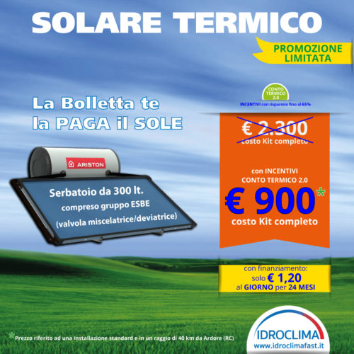 Solare Termico - IdroClima - Ardore