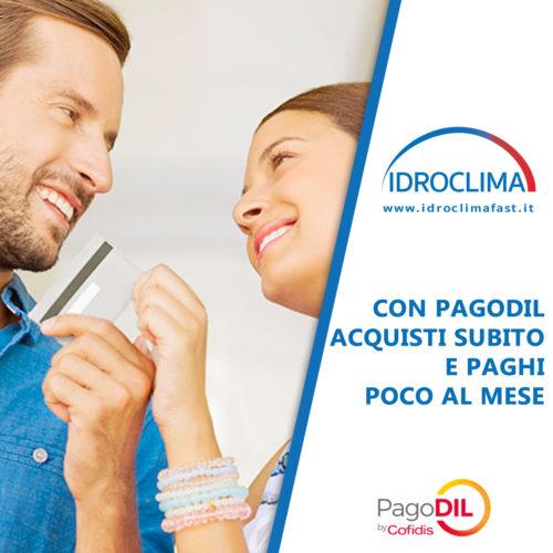 Acquista con PagoDIL alla IdroClima