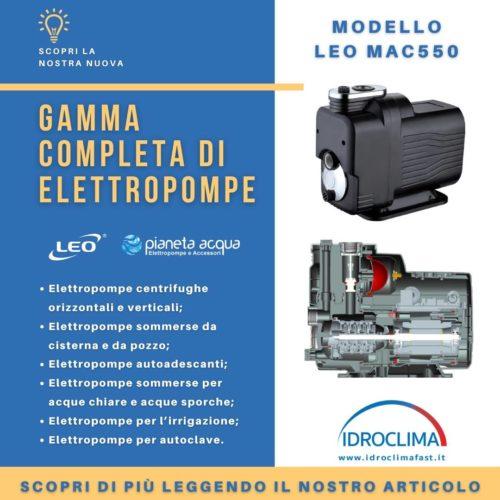 gamma completa di elettropompe - IdroClima