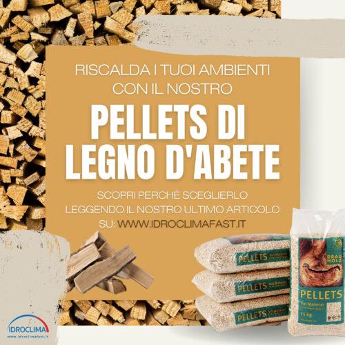 Pellets di Legno d'Abete - IdroClima