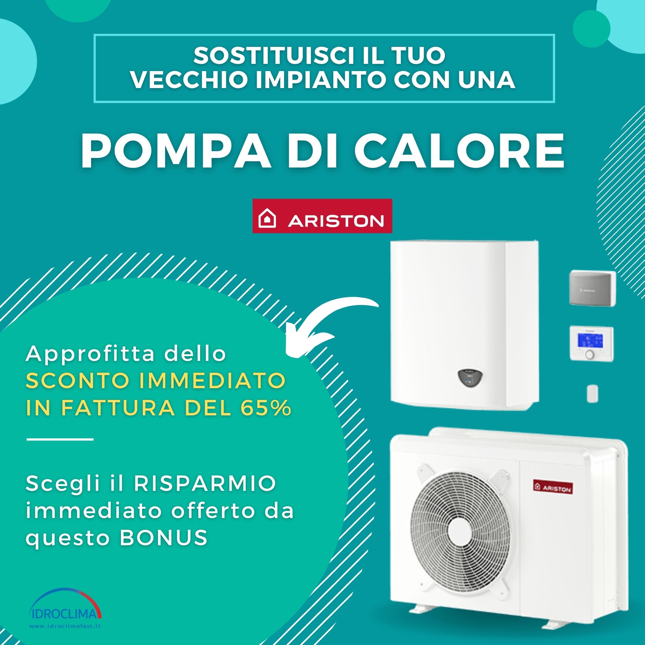 Pompe di Calore: approfitta dello Sconto immediato in fattura del 65% - IdroClima